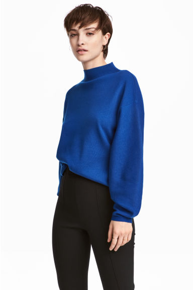 Fine-knit jumper - Cornflower blue - Ladies | H&M