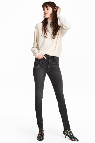 Shaping Skinny High Jeans Model