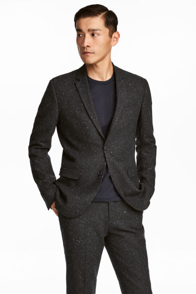 Nepped Blazer Slim fit Model