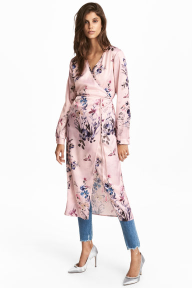Wrap dress - Powder pink - Ladies | H&M 1