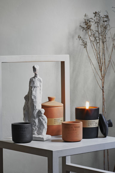 Grande bougie - Terracotta - HOME | H&M BE