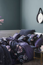 Floral-print duvet cover set - Purple/Flowers - Home All | H&M IE 1