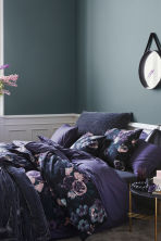 Set copripiumino a fiori - Viola/fiori - HOME | H&M IT 1