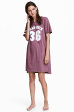 Nightdress with a print motif - null - Ladies | H&M CN 1