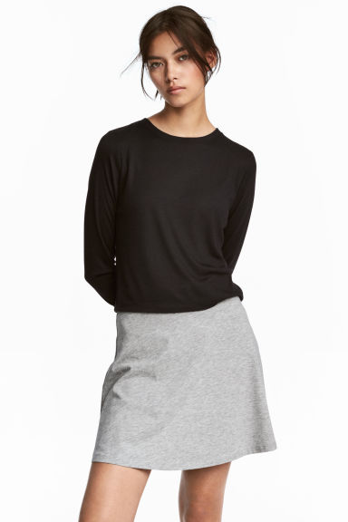 MAMA Ribbed jersey top - Black - Ladies | H&M CN 1