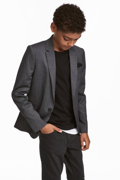 Single-breasted jacket Model