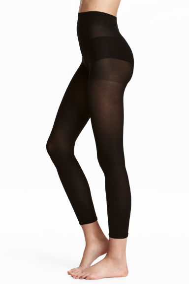 2-pack 60 denier leggings - Black - Ladies | H&M 1
