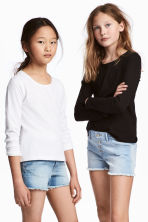 2-pack tops - Black -  | H&M 1