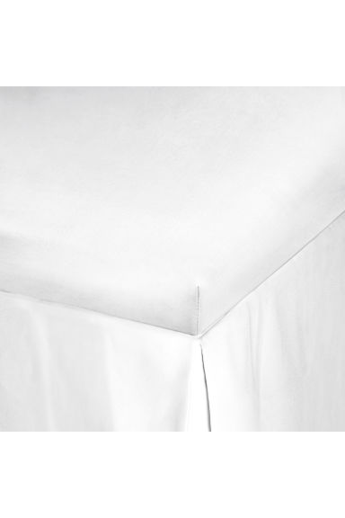 Fitted sheet - White - Home All | H&M GB