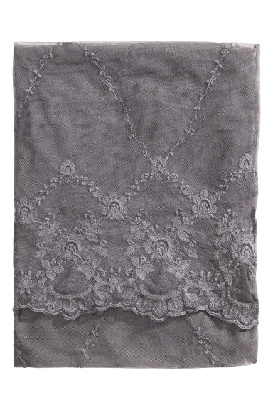 Lace tablecloth - Grey - Home All | H&M CN 1