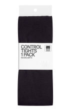 100 denier control-top tights - Black - Ladies | H&M 4
