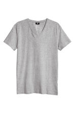 T-shirt stretch - Gris - HOMME | H&M FR 2