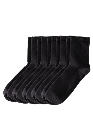 5-pack socks - Black - Ladies | H&M CN 1