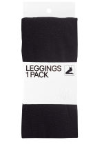 Fleece tights - Black - Ladies | H&M 8