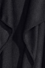 Fine-knit cardigan - Black -  | H&M CN 9