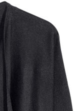 Fine-knit cardigan - Black -  | H&M CN 8