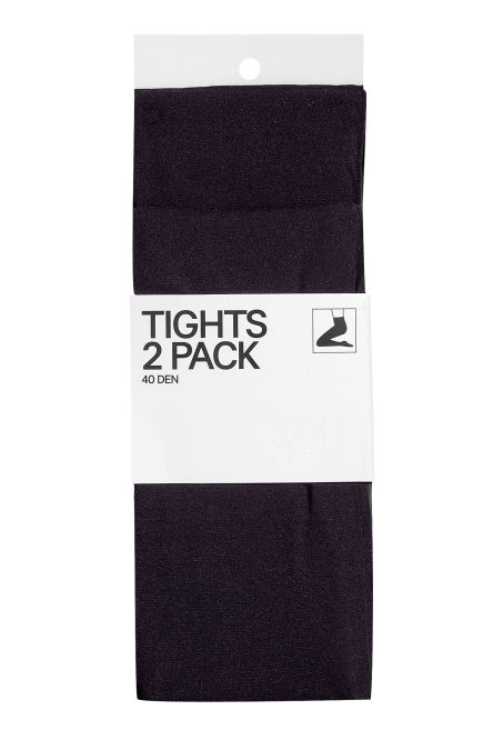 Collants 40 den, pack de 2