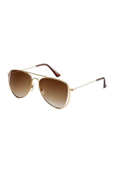 Sunglasses - Gold - Ladies | H&M