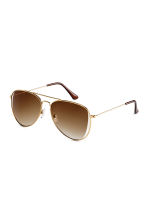 Sunglasses - Gold - Ladies | H&M IE 1