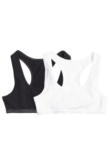 2-pack crop tops