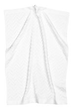 Jacquard-patterned hand towel - White - Home All | H&M CN 3