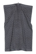 Jacquard-patterned hand towel - Dark grey - Home All | H&M CN 2