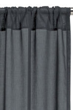 2-pack curtain lengths - Anthracite grey - Home All | H&M CN 3