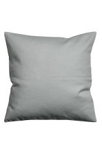 Canvas cushion cover - Grey - Home All | H&M IE 2