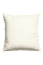 Washed linen cushion cover - White - Home All | H&M CN 1