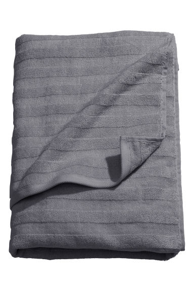 Bath towel - Grey - Home All | H&M CA 1