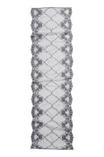 Chemin de table en dentelle - Gris - Home All | H&M FR 2