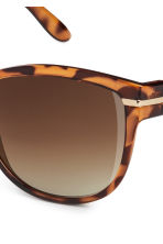 Sunglasses - Tortoise shell - Ladies | H&M CN 3