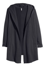 Hooded cardigan - Black - Ladies | H&M CN 2