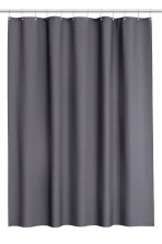 Shower curtain - Dark grey - Home All | H&M CA 2