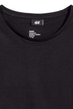 Round-neck T-shirt Regular fit - Black - Men | H&M 3