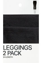 Leggings 60 den, 2 pz - Nero - DONNA | H&M IT 4