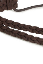 Braided hairband - Brown - Ladies | H&M CN 2