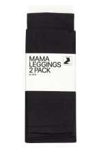MAMA 60 denier 2-pack leggings - Black - Ladies | H&M CN 2