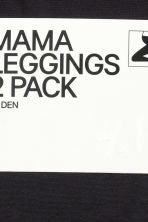 MAMA 60 denier 2-pack leggings - Black - Ladies | H&M CN 3