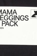 MAMA 60 denier 2-pack leggings - Black - Ladies | H&M CN 5