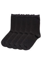 5-pack socks - Black - Ladies | H&M CA 1