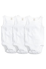 3-pack bodysuits - White - Kids | H&M 1