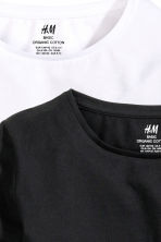 2-pack tops - Black -  | H&M 5