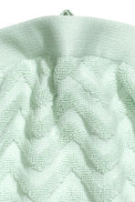 Jacquard-patterned hand towel - Mint green - Home All | H&M CN 3