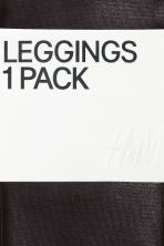 Coated leggings - Black - Ladies | H&M CN 5