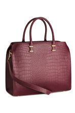 Borsa - Coccodrillo bordeaux - DONNA | H&M IT 2