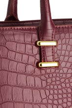 Borsa - Coccodrillo bordeaux - DONNA | H&M IT 4