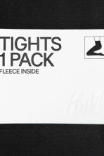Fleece tights - Black - Ladies | H&M 10