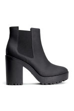 Platform boots - Black - Ladies | H&M GB 2