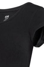 MAMA Jersey top - Black - Ladies | H&M 4